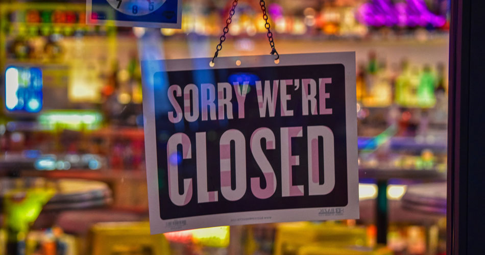 Coronavirus closed business