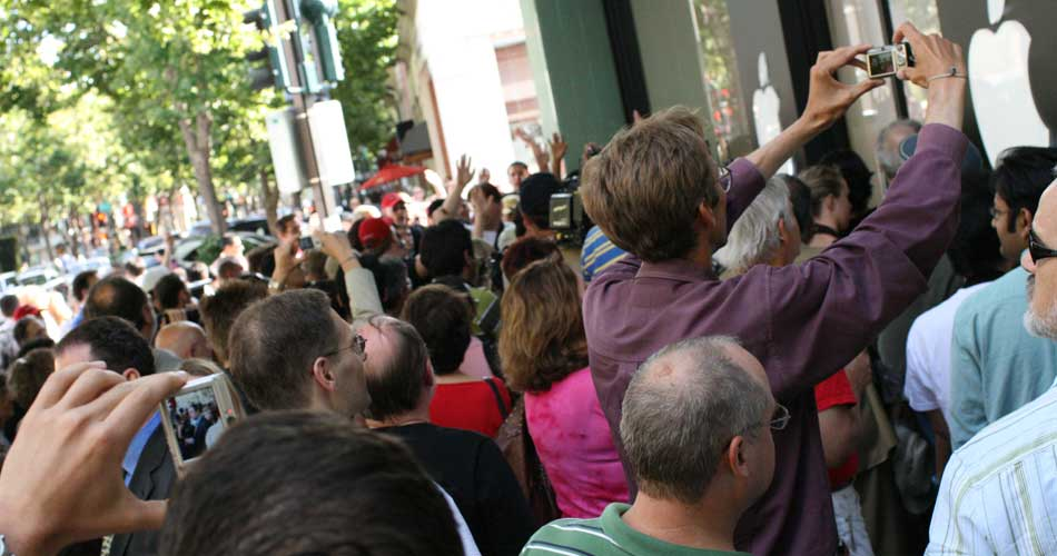 Iphone launch in 2007